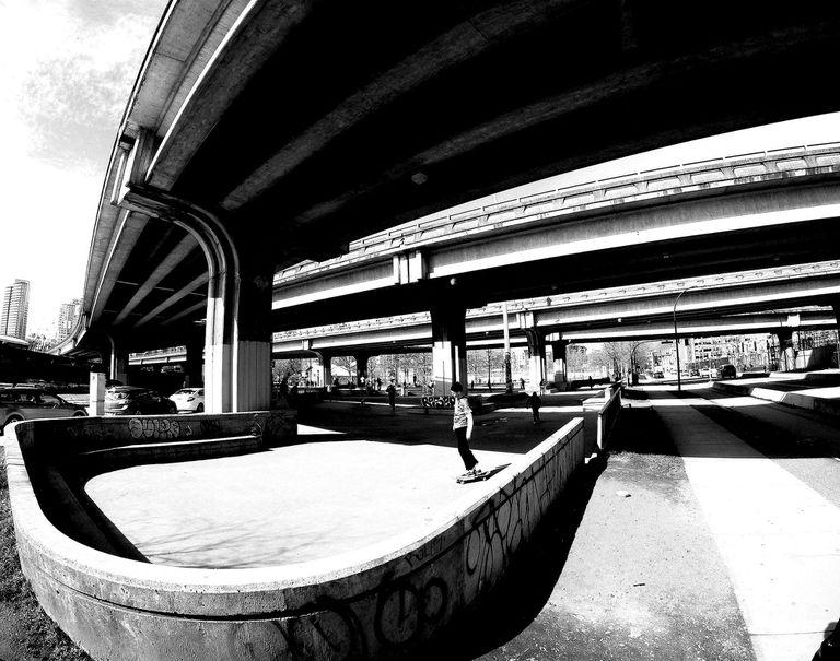 Skateboarding Vancouver, British Columbia