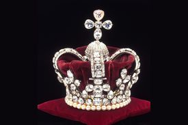 Crown of Mary of Modena, queen consort of Britain's James II