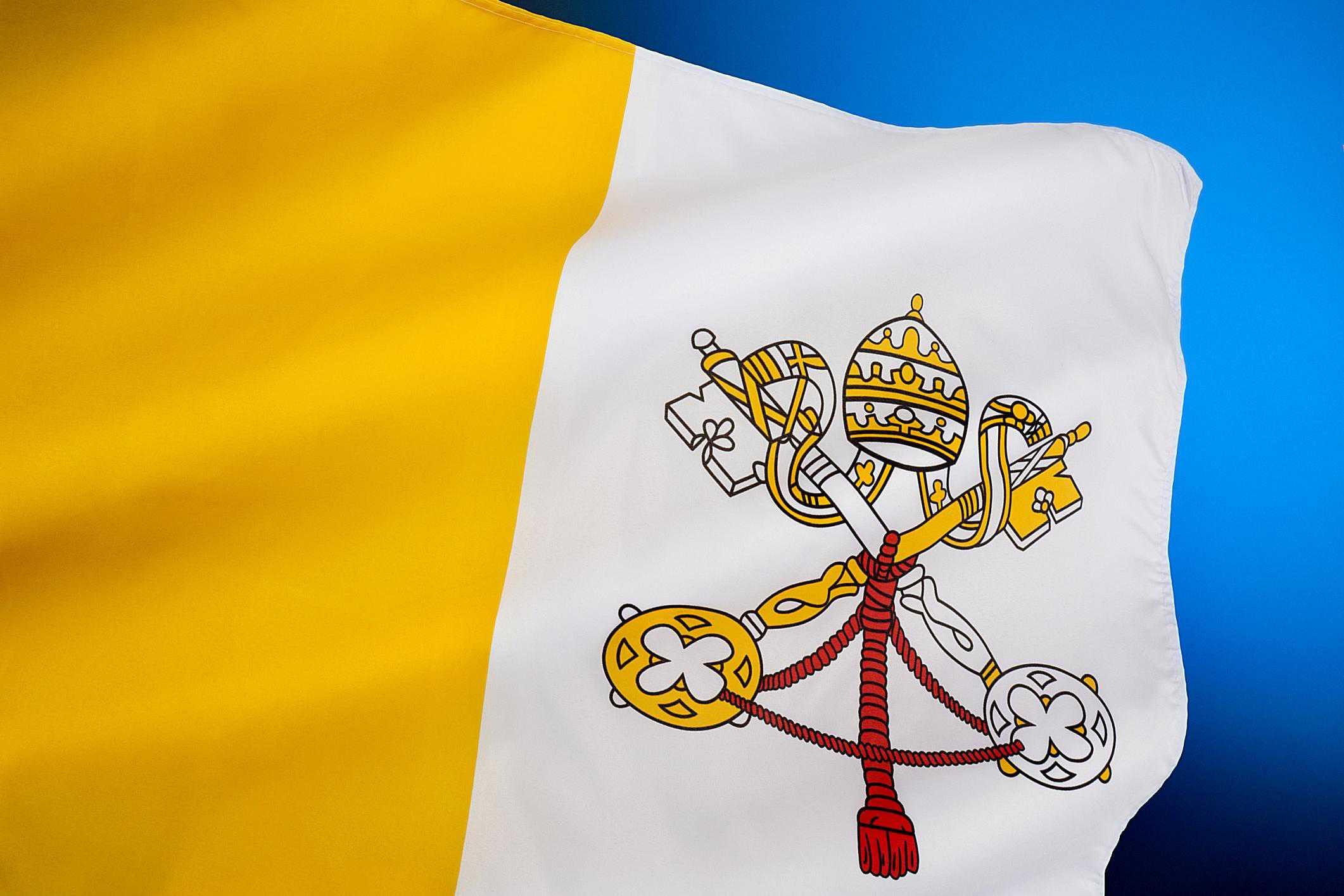 Bandera del Vaticano