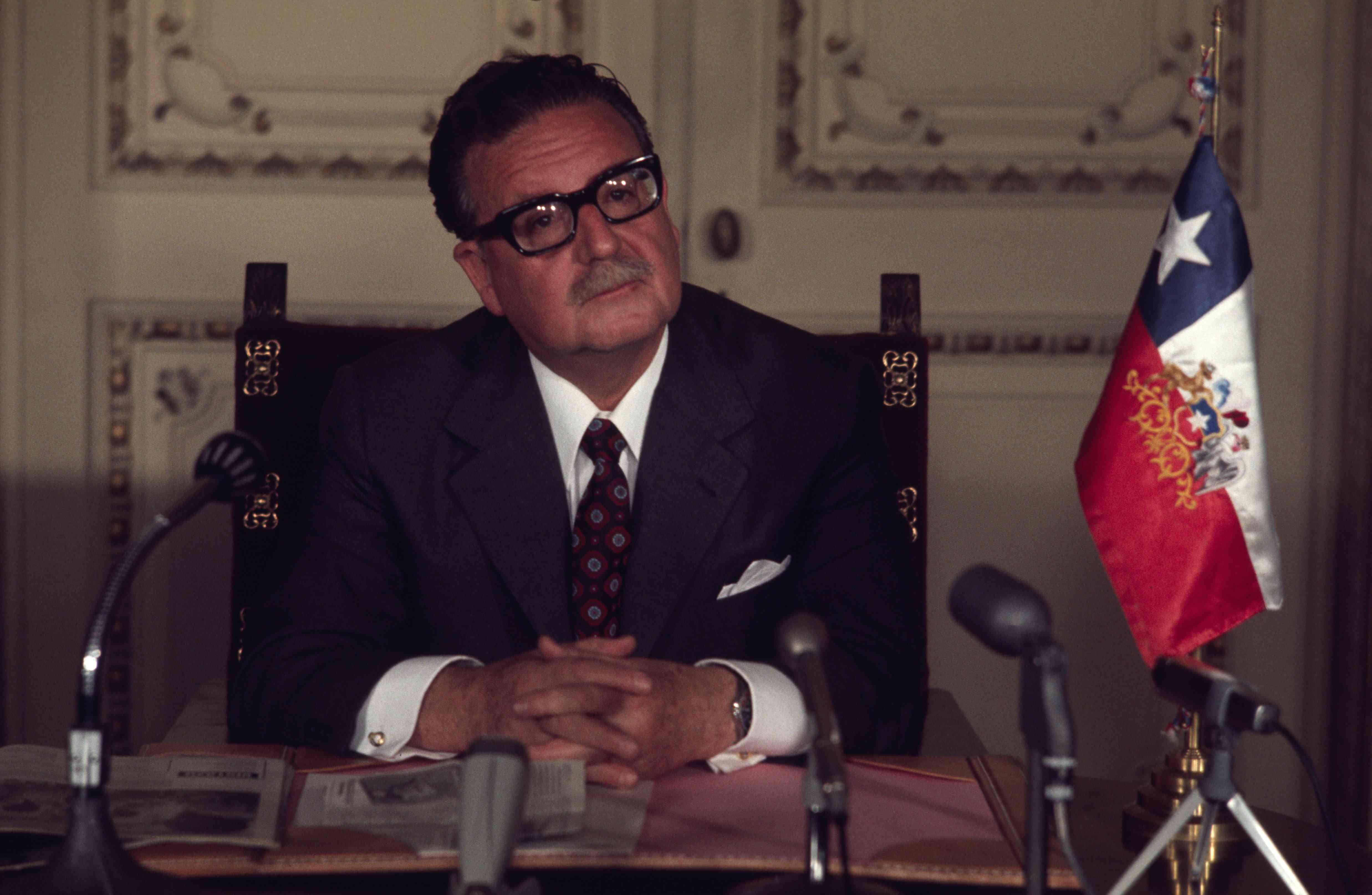 Salvador Allende, 1971