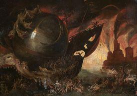 'La Traversée du Styx', c1591-1638. Artist: Jacob Isaacz van Swanenburg