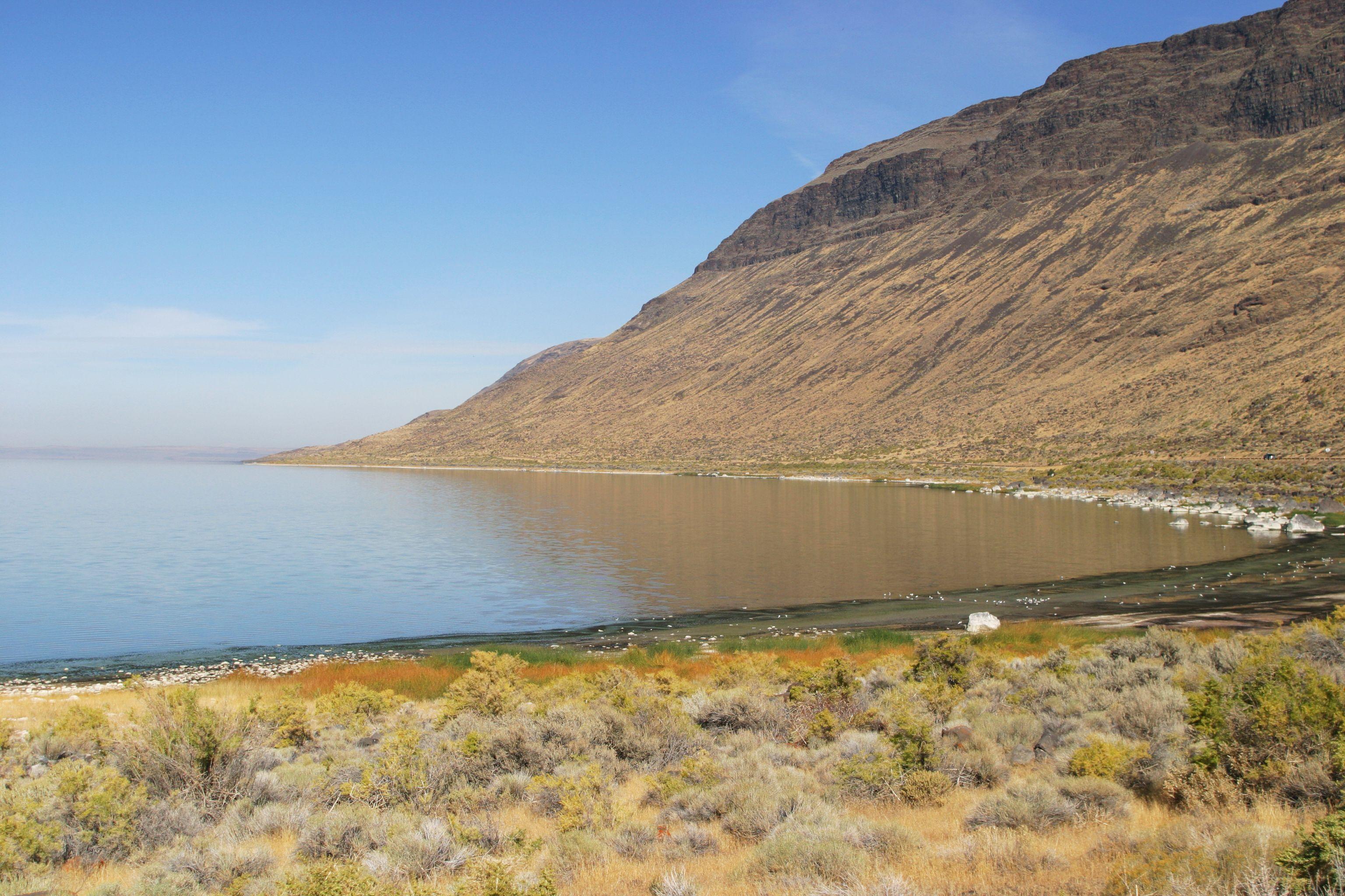 Albert Rim above Oregon's Lake Albert