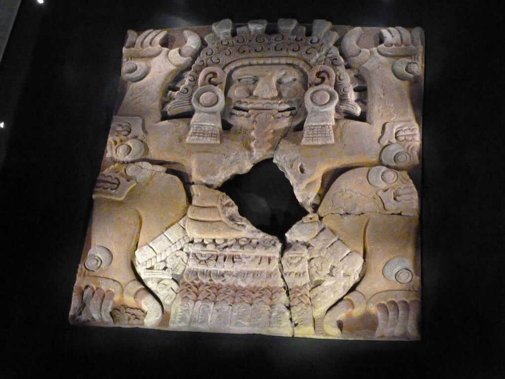 Monolithic Statue of Tlaltecuhtli from the Aztec Templo Mayor, Mexico City