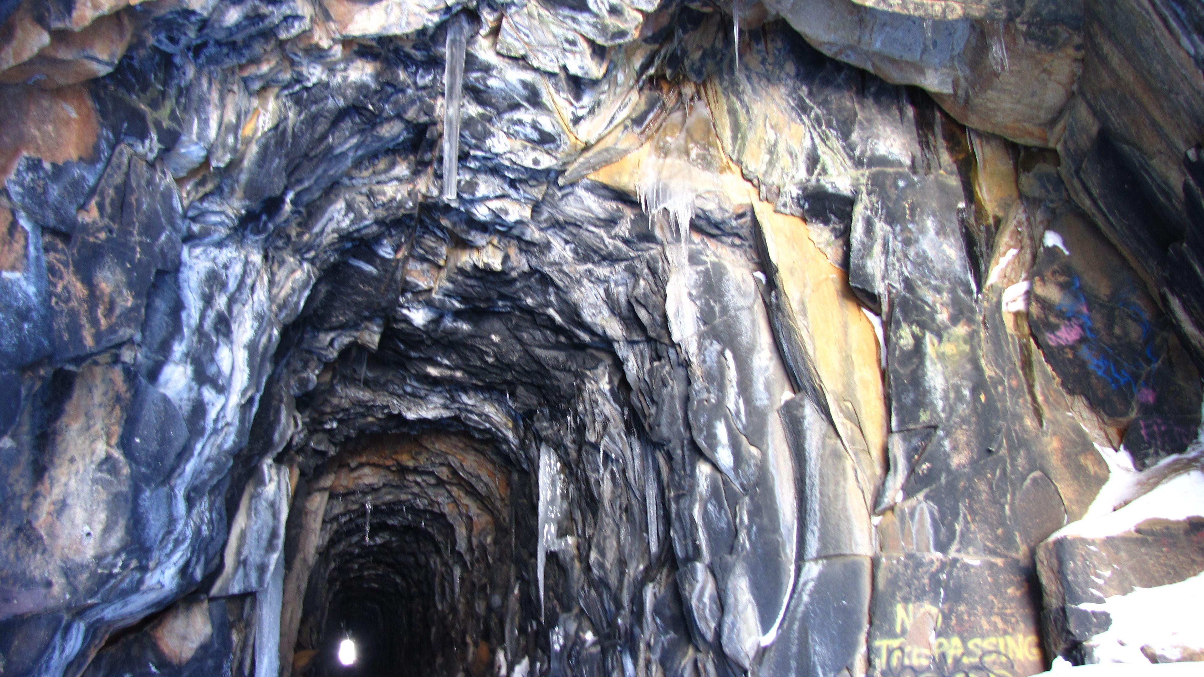 Mountain tunnel.