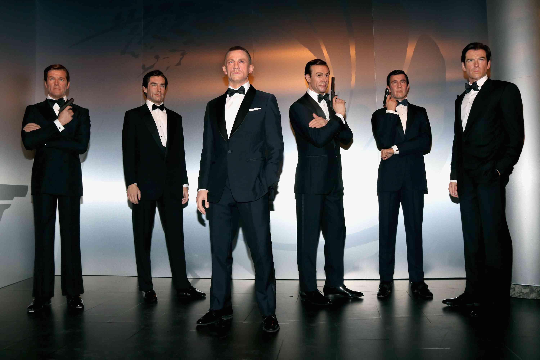 Madame Tussauds Berlin Unveils James Bond Wax Figures