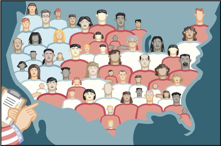 An illustration of the US Census