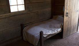 Slave cabin in Monticello