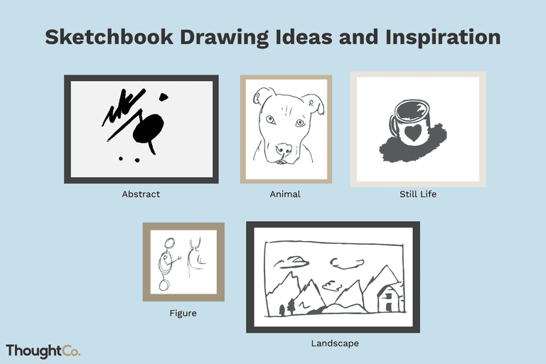 sketchbook drawing ideas and inspiration