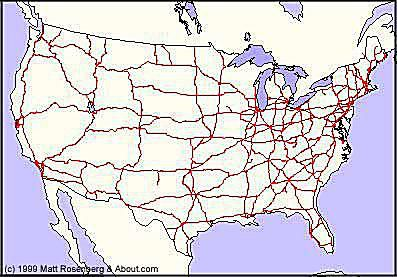 Interstate Higway Map