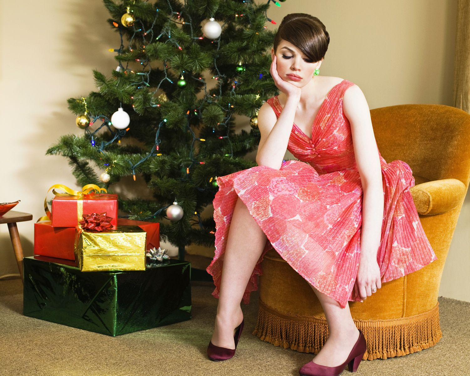 Image result for Sad Christmas Party