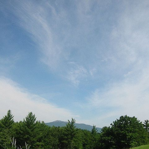 Mountain view from the Franklin Pierce campus