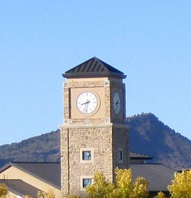 Fort Lewis College Clock Tower