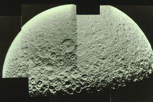 Rhea, Moon Of The Planet