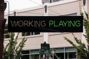 Working/Playing