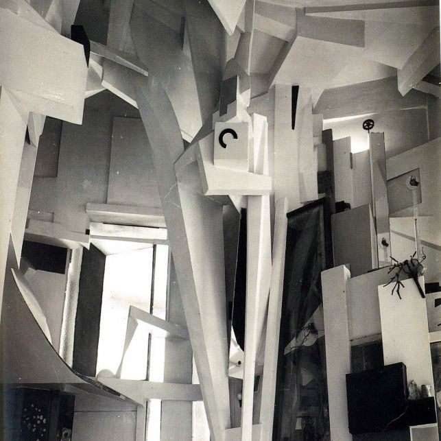 Famous collage artists kurt schwitters
