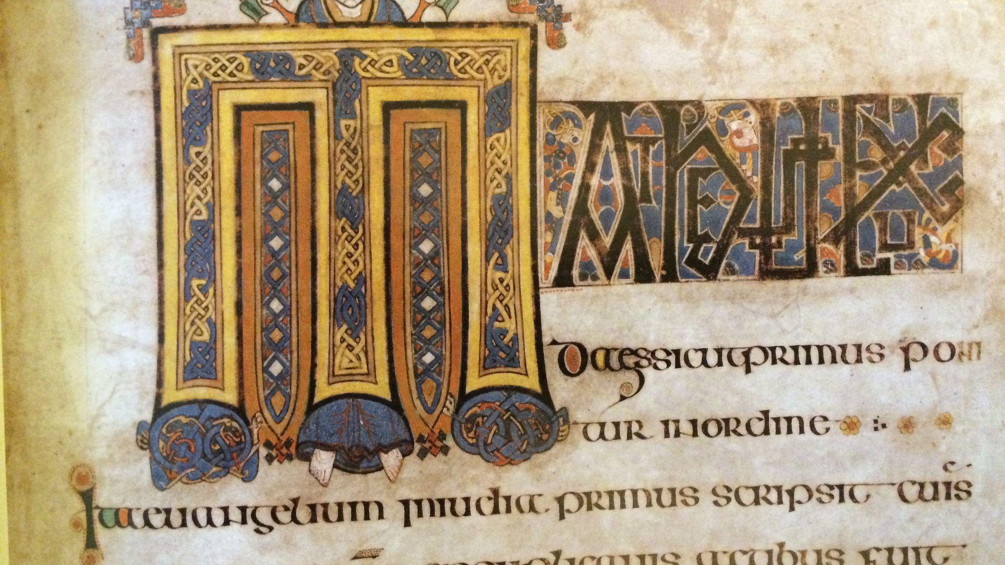 The Book Of Kells Splendid Illuminated Manuscript