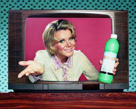 persuasive TV commercial