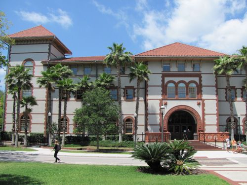 Proctor Library at Flagler College - The Main Library at Flagler College