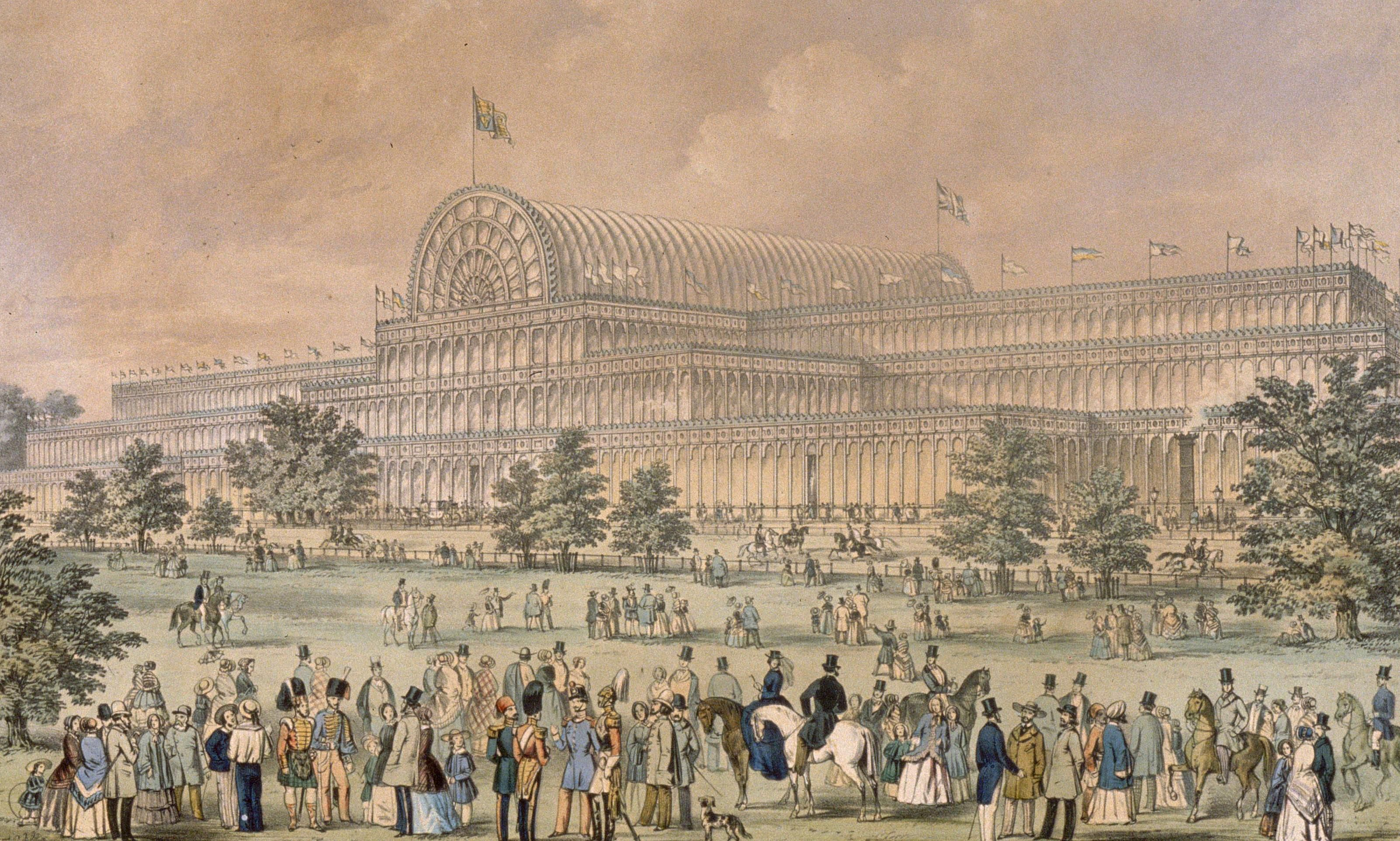 The Crystal Palace in Hyde Park, home to the Great Exhibition of 1851.  Getty Images
