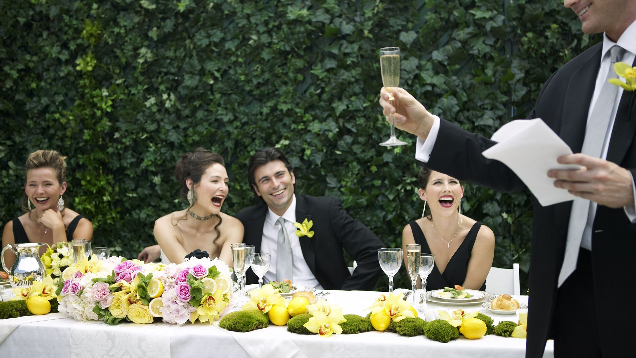 14 Quotes for a Funny Wedding Toast