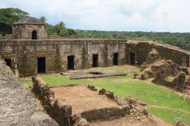 San Lorenzo ruins of the ancient city.