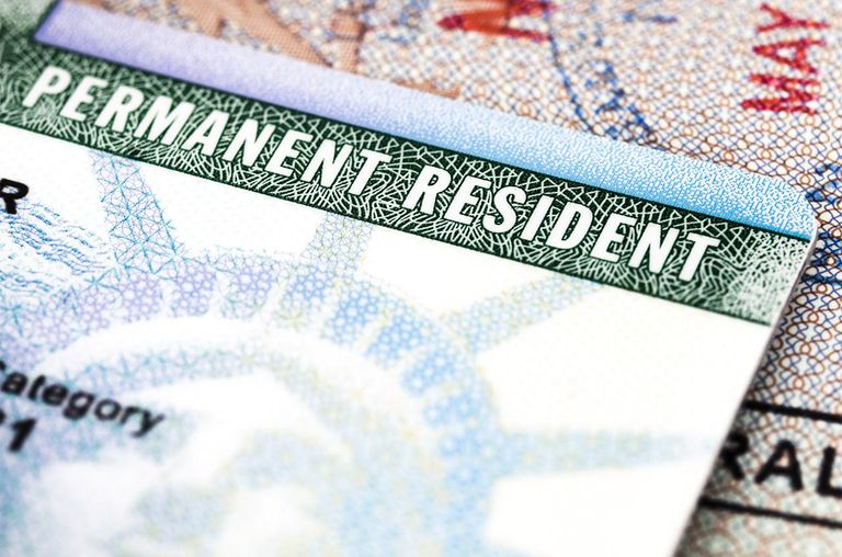 Green Card Immigration Term