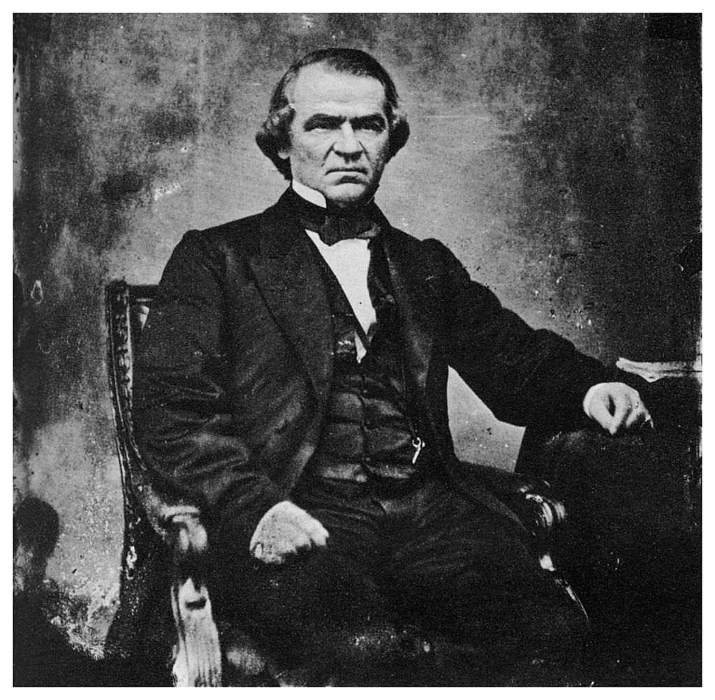 Andrew Johnson, 17th President of the United States, 1860s (1955).
