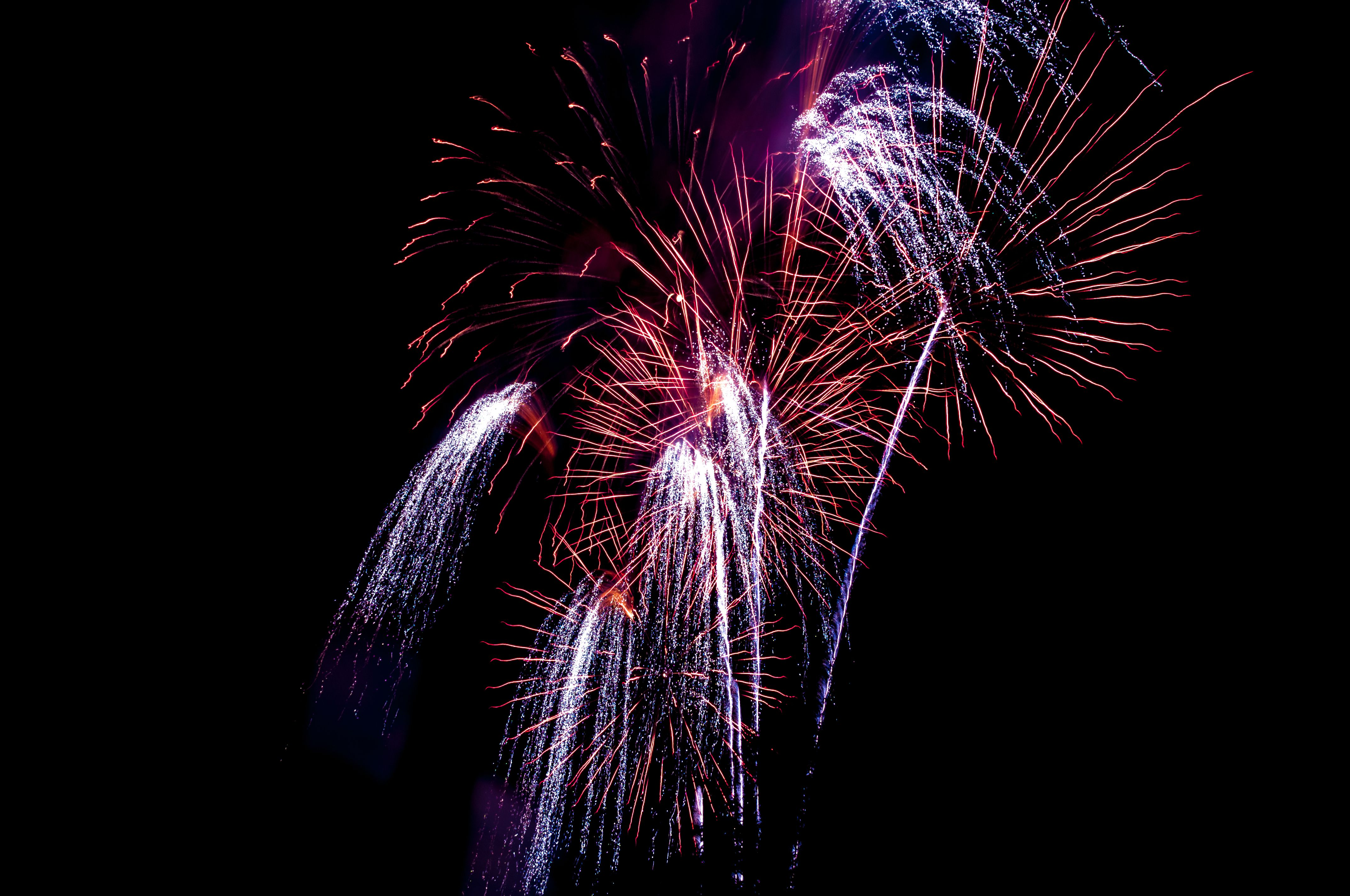 Potassium chlorate is used in fireworks as an oxidizer and to produce a purple flame.