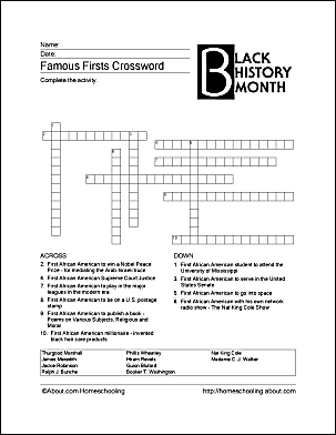 Print off these black history month worksheets ibookread PDF