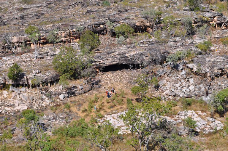 Northern Entrance of Nawarla Gabarnmang