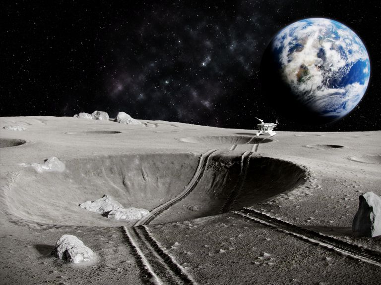 Lunar tractor