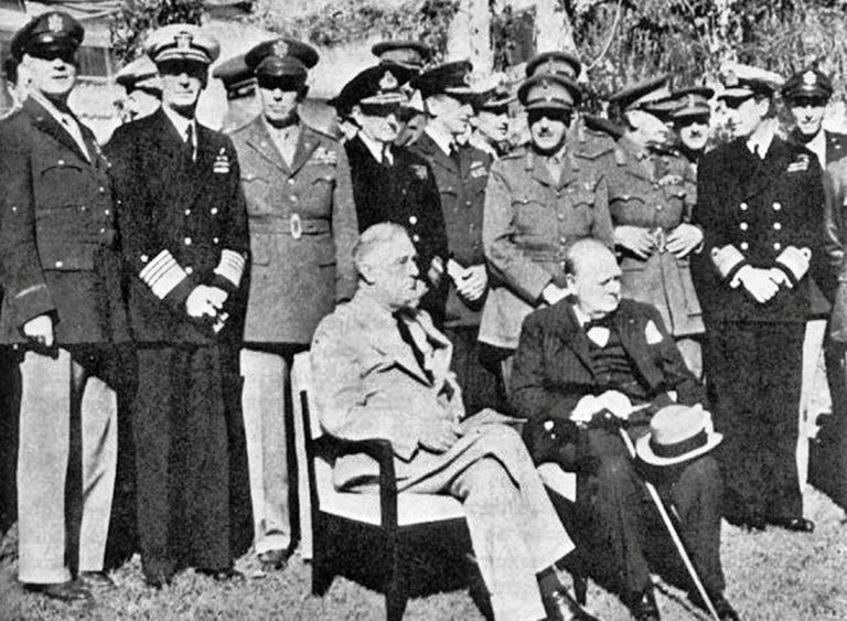 Casablana Conference During World War Ii