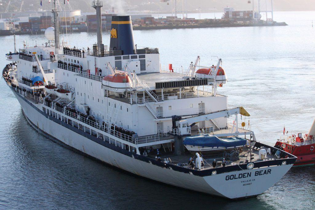 The Cal Maritime Training Ship, the Golden Bear