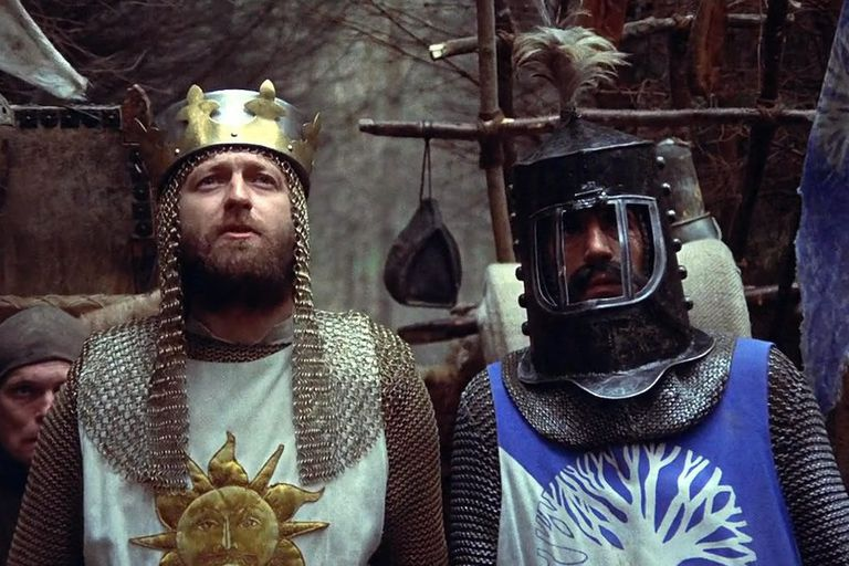 A scene from Monty Python and the Holy Grail