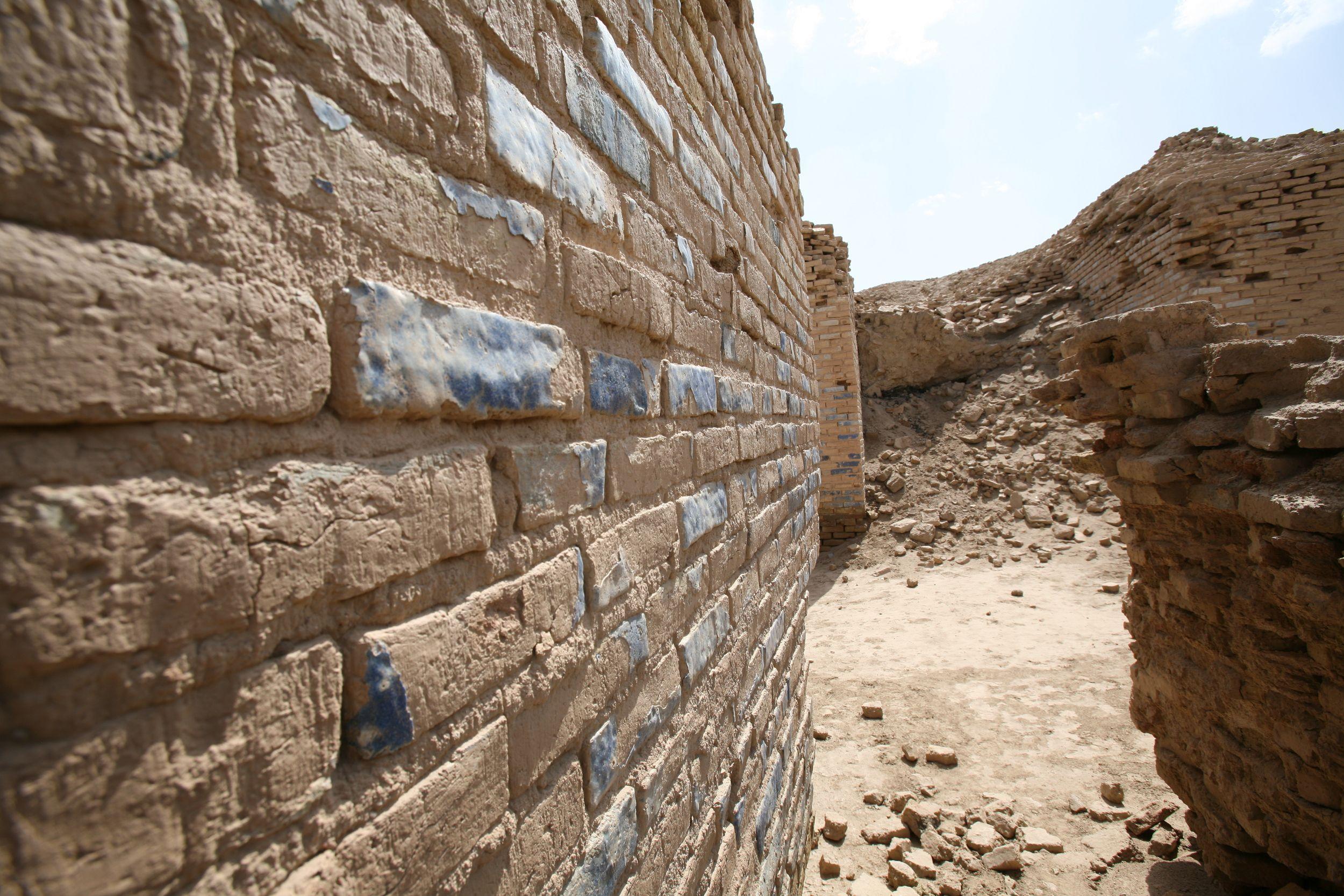 Excavated Buildings at Eridu