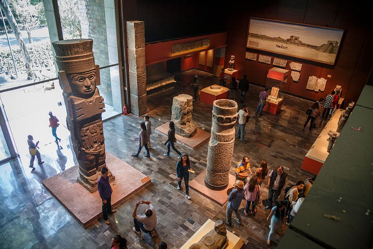 Museo Nacional de Antropologia in Mexico City