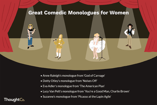Great comedic monologues for women