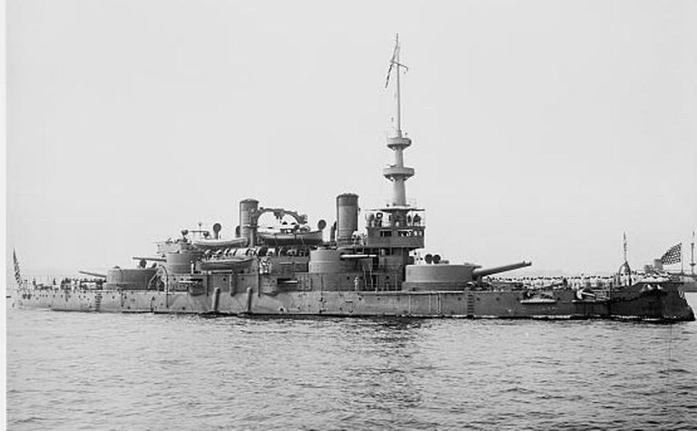 USS Oregon during the Spanish-American War