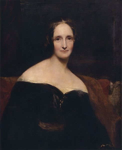 Mary Shelley (c.1840) by Rothwell