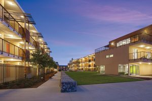 East and West Residence Halls at Pitzer College