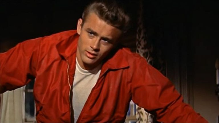 James Dean in his windbreaker from