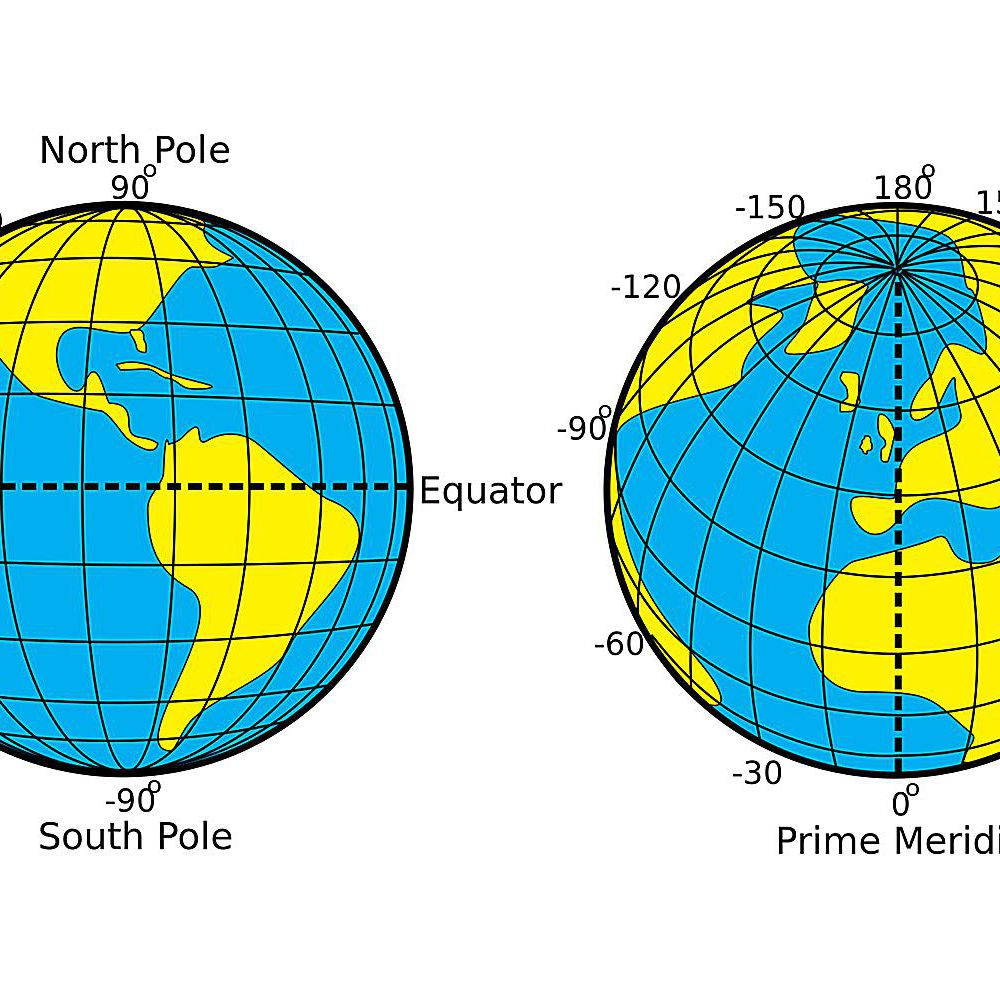 Map Of North America After Planet X.The Distance Between Degrees Of Latitude And Longitude