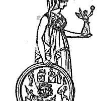 Minerva: Göttinnen aus Thomas Keightleys 1852 Die Mythologie des antiken Griechenlands und Italiens