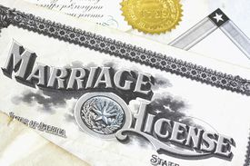 Marriage licenses, certificates and other marriage records are a valuable source for locating maiden names.