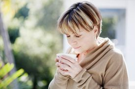 The reason coffee doesn't taste as good as it smells is because saliva ruins many of the molecules that contribute to the aroma.