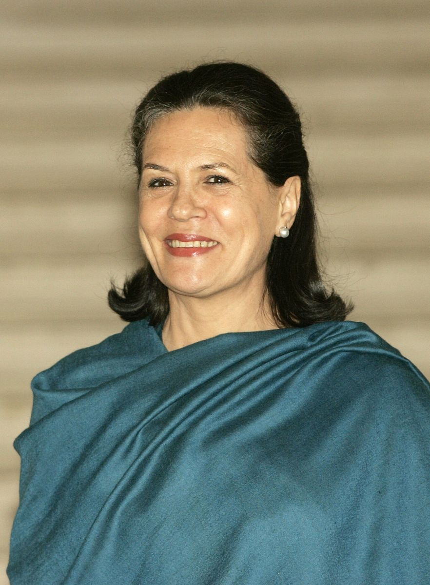 Sonia Gandhi of India's Congress Party 2006