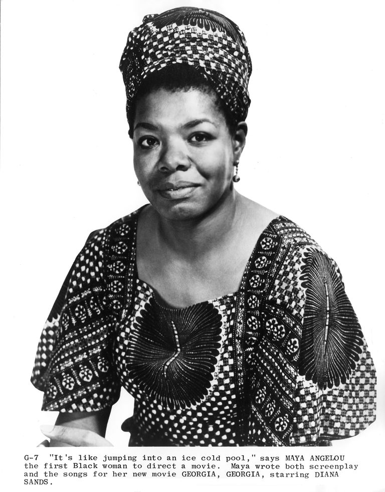 Maya Angelou 1779882 on Science Pictures To Print