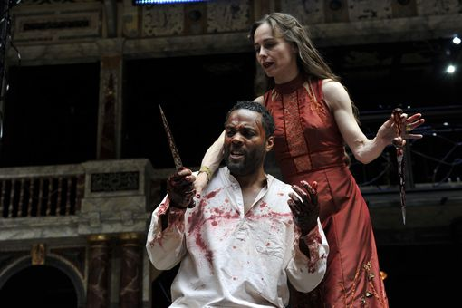'Macbeth' Performed At The Globe Theatre
