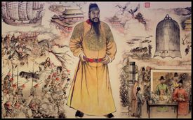 Emperor Zhu Di of the Ming Dynasty -- Ming dynasty tombs, Beijing