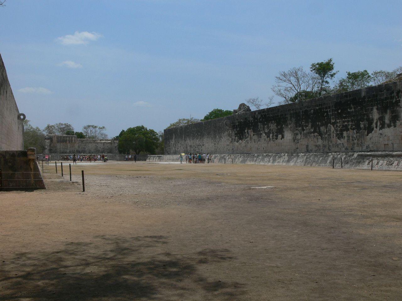 Ball Court in Chichen Itza, Mexico